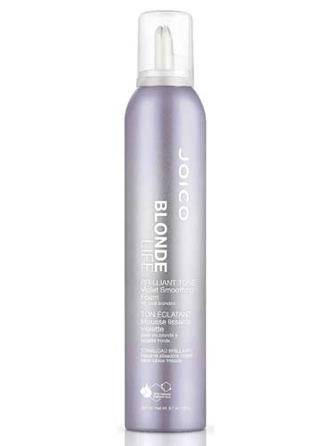 Joico Blonde Life Brilliant Tone Violet Foam Styler (200ml)