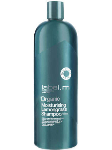 Label.m Organic Moisturising Lemongrass Shampoo (1000ml)