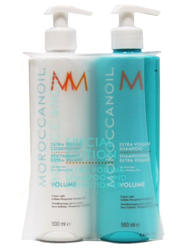 Moroccanoil Extra Volume Shampoo & Conditioner Set (2 x 500ml)