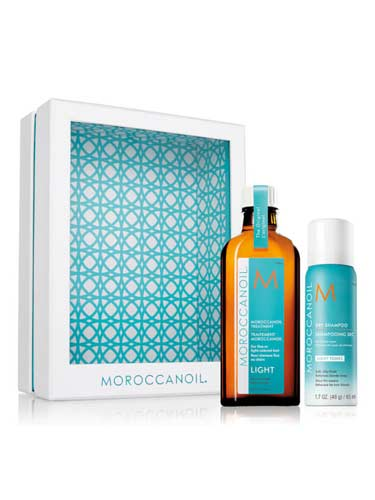 Moroccanoil Home and Away Light Set - Light Tones