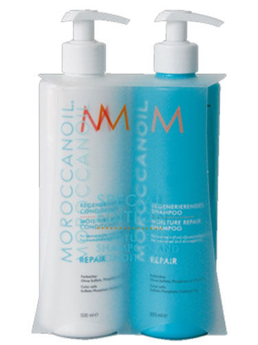 Moroccanoil Moisture Repair Shampoo & Conditioner Set (2 x 500ml)