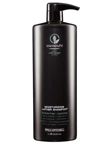 Paul Mitchell Awapuhi Wild Ginger Moisturising Lather Shampoo (1000ml)