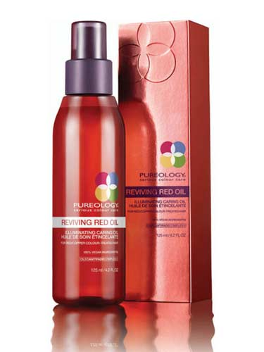 Pureology Reviving Red Illuminating Caring Oil (125ml)