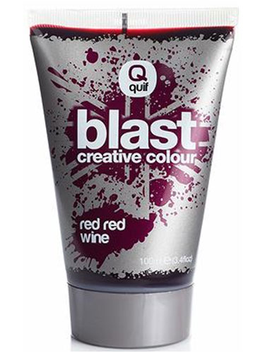 Quiff Blast Creative Colour Red Wine (100ml)