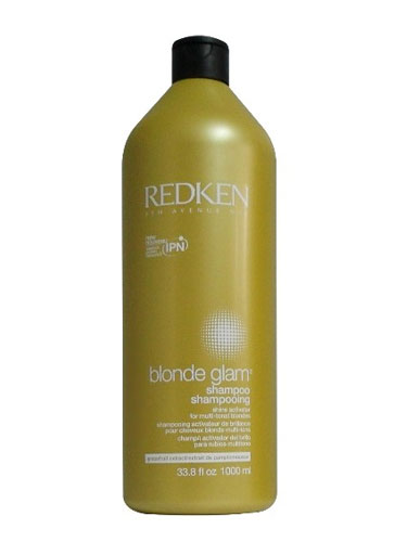 Redken Blonde Glam Shampoo (1000ml)