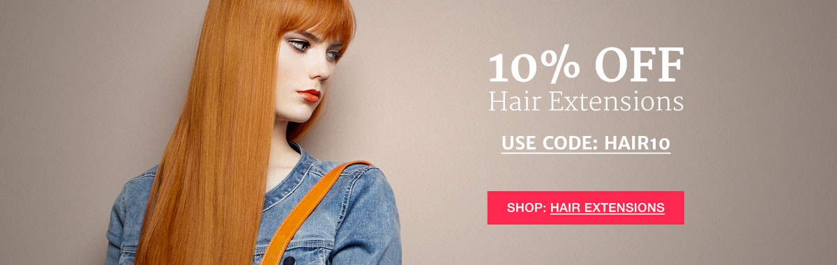 10% Off Hair Extensions