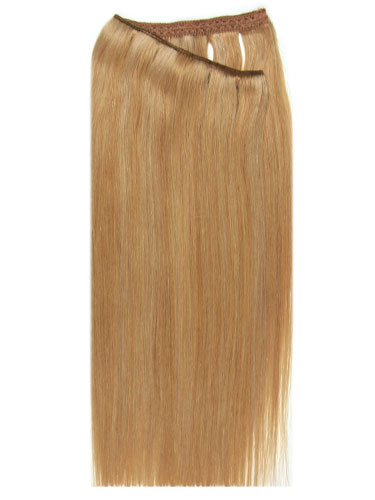 I&K Wire Quick Fit One Piece Human Hair Extensions #10/16 18 inch