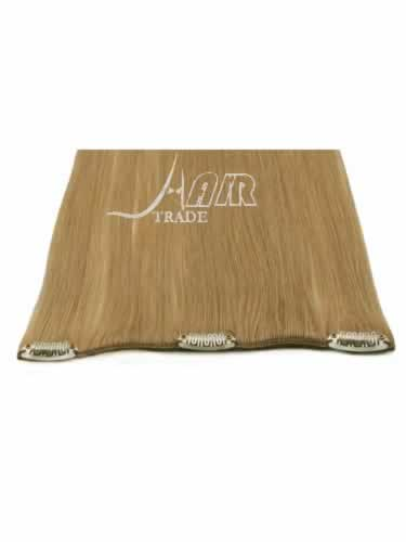 I&K Clip In Pick2Fit Human Hair Extensions - 8 Inch Width #18-Ash Blonde 18 inch