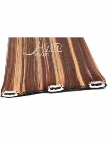 I&K Clip In Pick2Fit Human Hair Extensions - 8 Inch Width