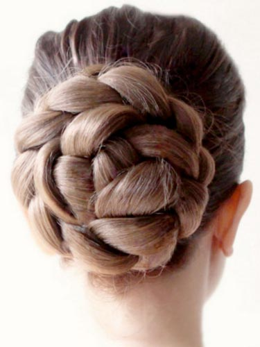 I&K Wedding Hair Bun