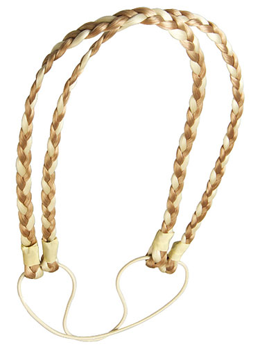 I&K Dual Braided Hair Headband