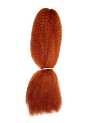I&K Kanekalon Jumbo Braid - Braiding Hair #JB-P350-Bright Copper
