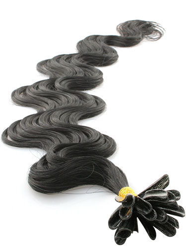 I&K Pre Bonded Nail Tip Human Hair Extensions - Body Wave