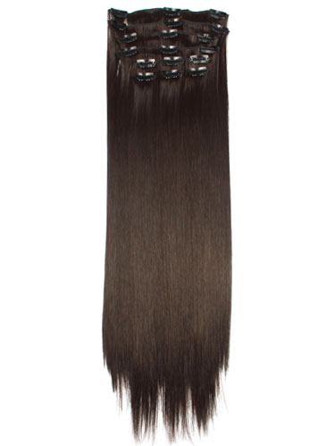 I&K Clip In Synthetic Hair Extensions - Full Head