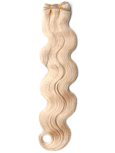 I&K Body Wave Weave Human Hair Extensions #22-Medium Blonde 22 inch
