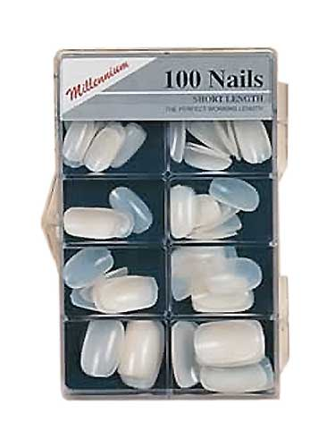 Millennium 100pcs Short Length Nail Tips