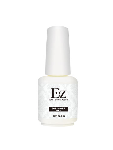 EZ Soak-Off Gel Polish Top it Off Sealer (15ml)