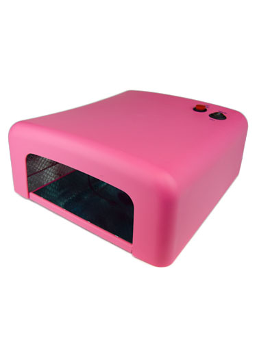 EZ Gel UV Nail Lamp Dryer with Timer 36W #Pink