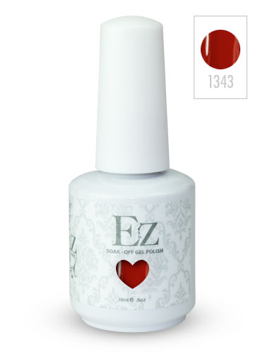 EZ Soak-Off Gel Nail Polish (15ml) #Red Roses