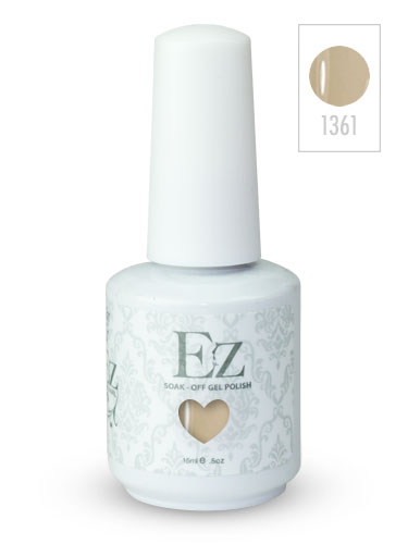 EZ Soak-Off Gel Nail Polish (15ml) #Ivory Coast