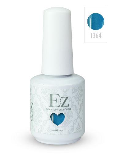 EZ Soak-Off Gel Nail Polish (15ml) #Ocean Wave