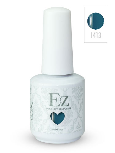 EZ Soak-Off Gel Nail Polish (15ml) #Up in the Blue