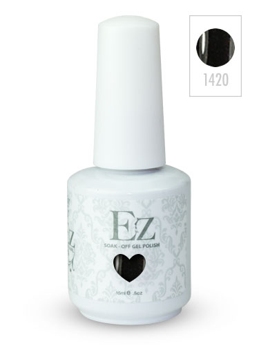 EZ Soak-Off Gel Nail Polish (15ml) #Jet Set