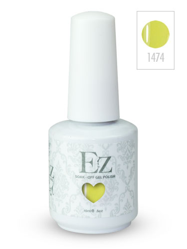 EZ Soak-Off Gel Nail Polish (15ml) #Copa Cabana Banana