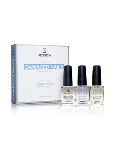 Jessica Nail Damaged Nails Kit