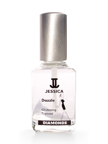 Jessica Diamonds Dazzle - Glistening Topcoat (0.5oz)