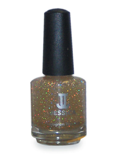 Jessica Gold Hologram Top Coat (0.5oz)