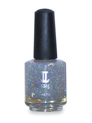 Jessica Silver Hologram Top Coat (0.5oz)