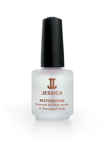 JESSICA Restoration Basecoat for Post-Acrylic or Damaged Nails