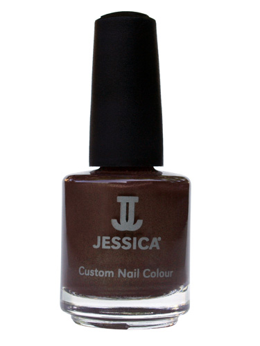JESSICA CUSTOM NAIL COLOUR - Hot Fudge (7.4ml)