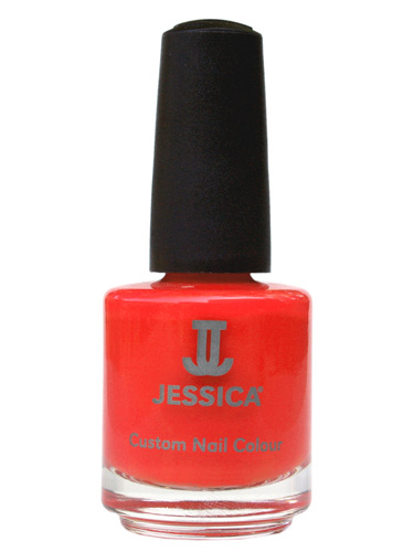 JESSICA CUSTOM NAIL COLOUR - Confident Coral (7.4ml)