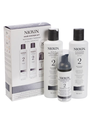 Nioxin Scalp & Hair System 2 Starter Kit