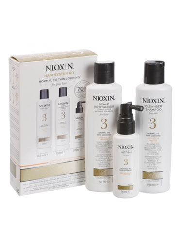 Nioxin Scalp & Hair System 3 Starter Kit