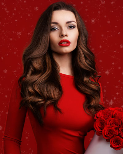 Christmas - Pre-Bonded Hair Extensions