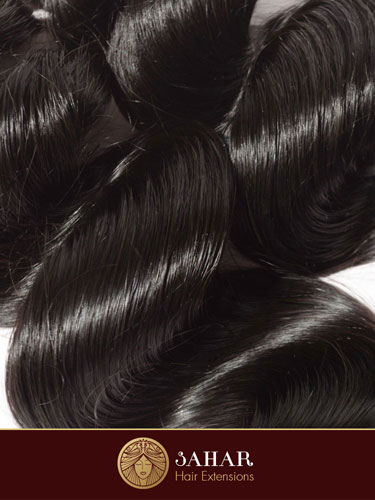 Virgin Brazilian Hair Extensions - Loose Waves [7A] (100g)