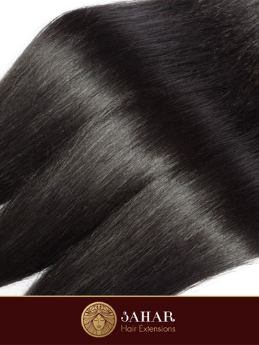 Virgin Brazilian Weft Hair Extensions - Straight [7A] (100g)