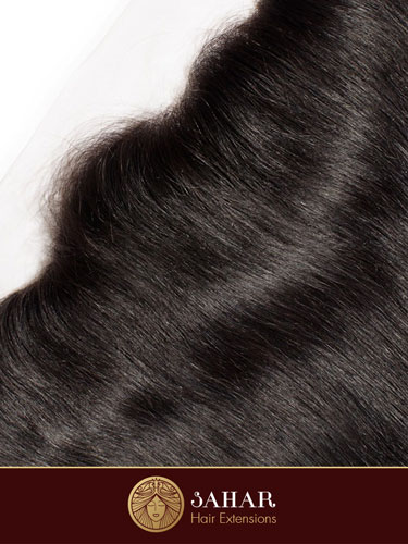 Virgin Brazilian Lace Front Closure - Straight Free Part [7A] (35g)