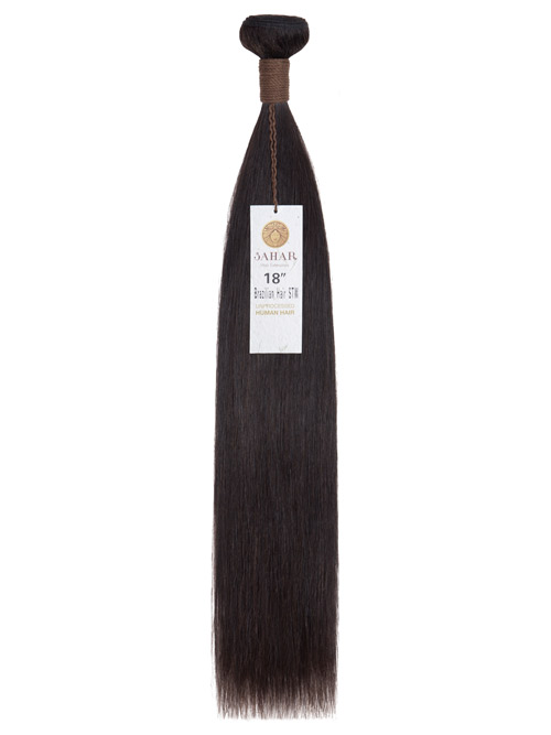 Sahar Unprocessed Brazilian Virgin Weft Hair Extensions 100g - Straight