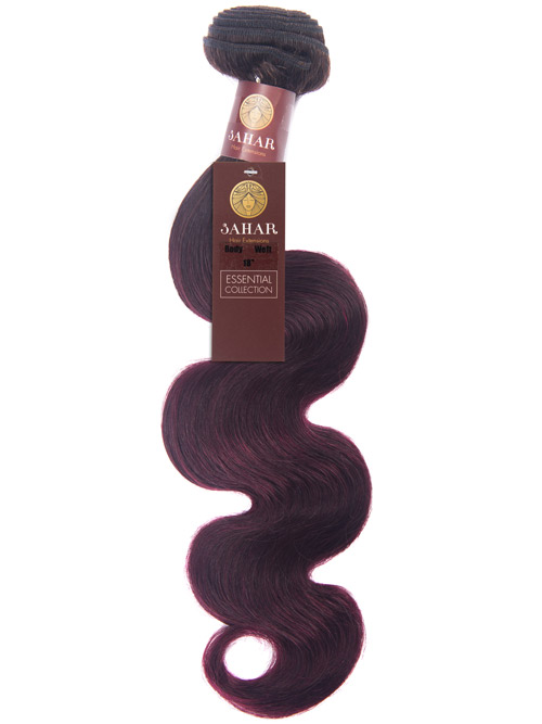 Sahar Essential Unprocessed Brazilian Weft Hair Extensions 100g – Body Wave