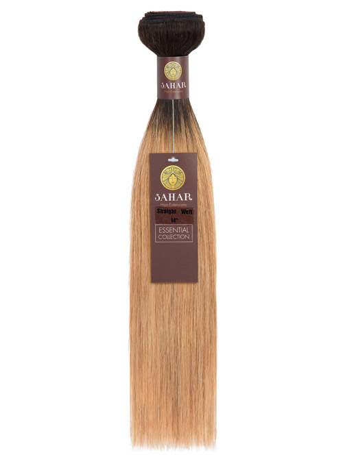 Sahar Essential Unprocessed Brazilian Weft Hair Extensions 100g - Straight