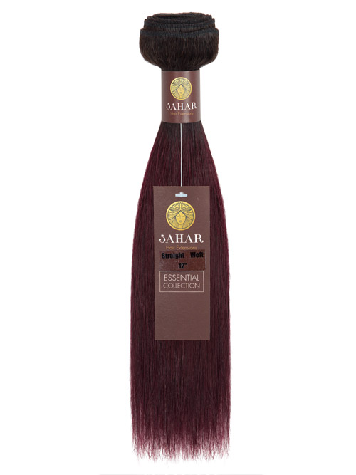 Sahar Essential Unprocessed Brazilian Virgin Weft Hair Extensions 100g - Straight