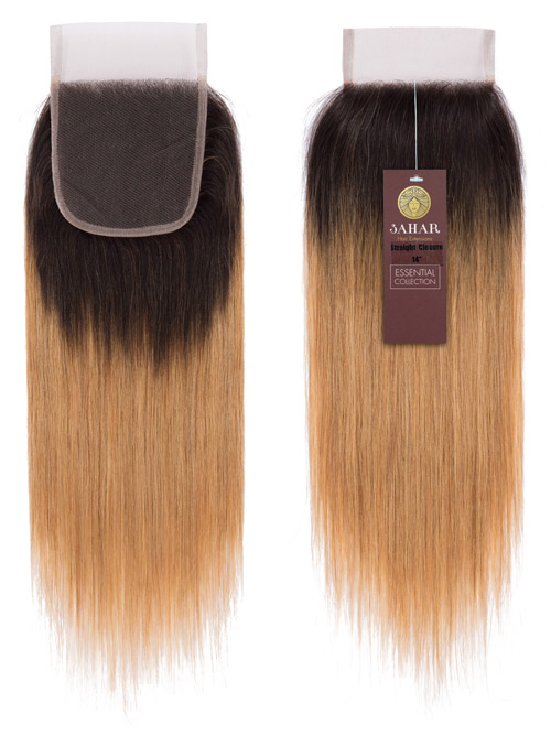Sahar Essential Unprocessed Brazilian Top Lace Closure 4 inch X 4 inch - Straight