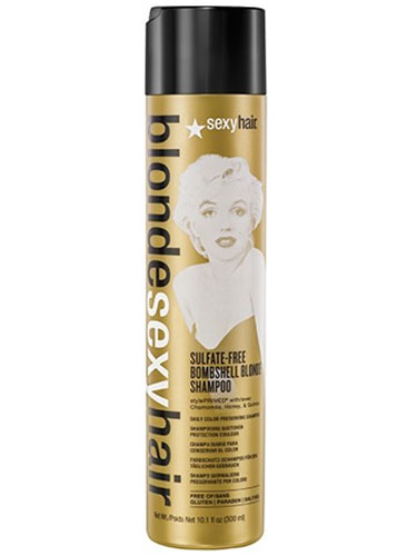 Sexy Hair Sulfate Free Bombshell Blonde Shampoo (300ml)