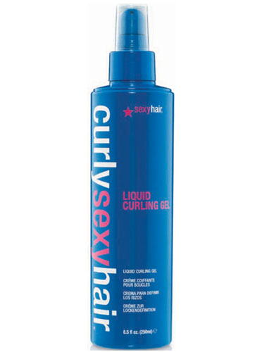 Sexy Hair Curly Liquid Curling Gel (250ml)