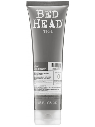 TIGI Bed Head Urban Antidotes Reboot Scalp Shampoo (250ml)