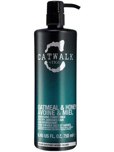 Tigi Catwalk Oatmeal And Honey Nourishing Conditioner (750ml)